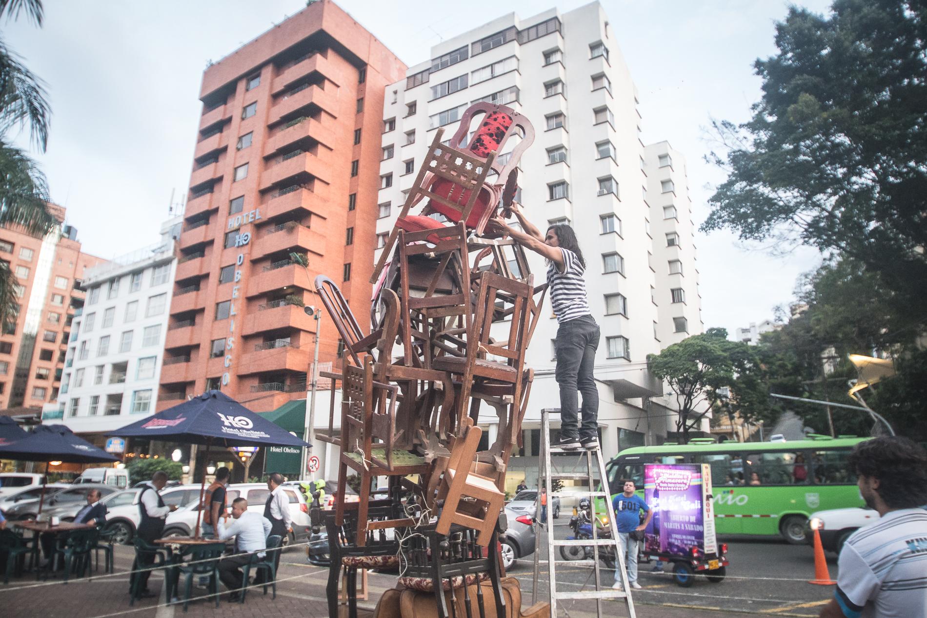 Rube Goldberg Contra El Obelisco Fotos Leonardo Linares 29