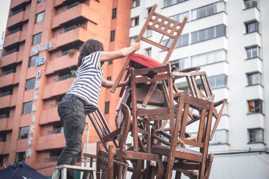 Rube Goldberg Contra El Obelisco Fotos Leonardo Linares 31